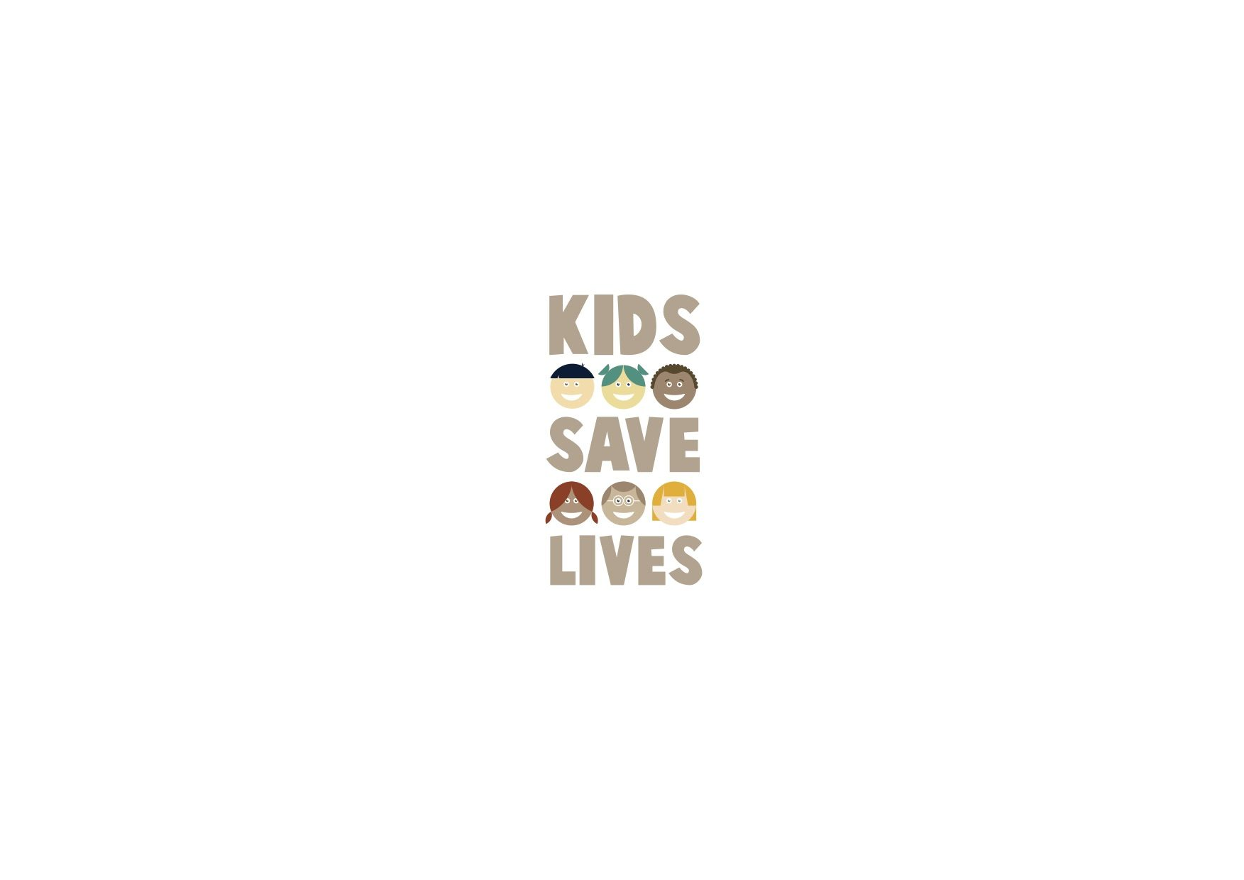 Logo Kids Save Lives di IRC in Homepage sito ERC!