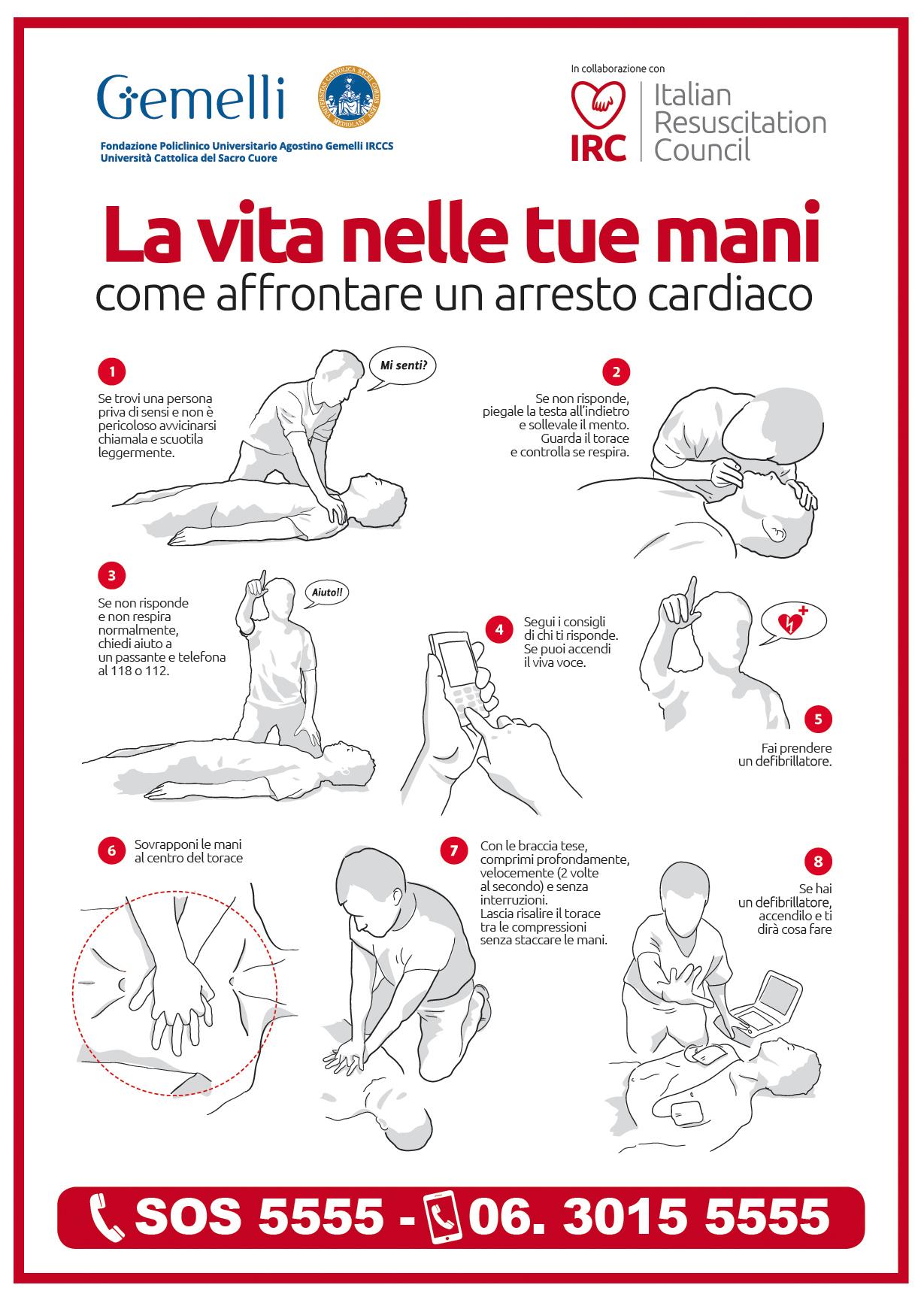 """""""La Vita nella Tue Mani"""" alla Fondazione Policlinico Universitario A. Gemelli, IRCCS"""