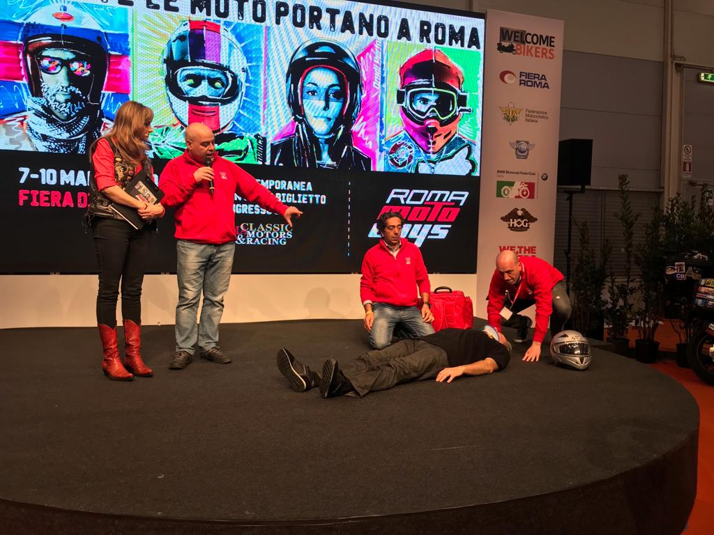 Italian Resuscitation Council a Roma Motodays 2019